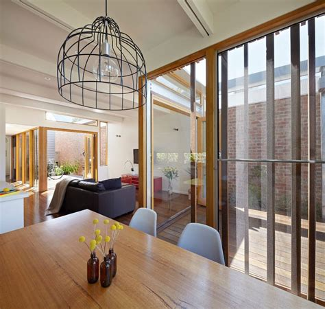 convertible courtyards change  game  australia courtyard house house roof house