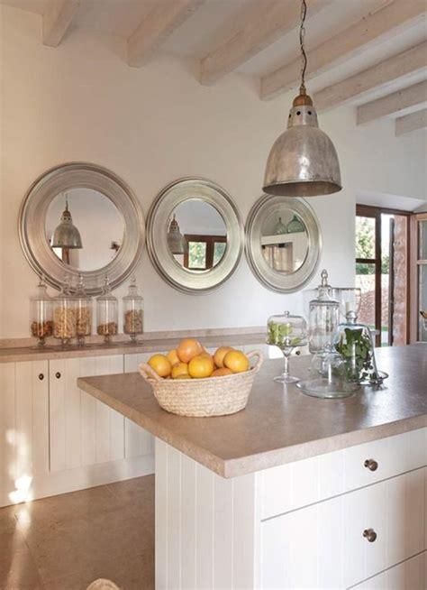 cuisine miroir déco cuisine avec miroir