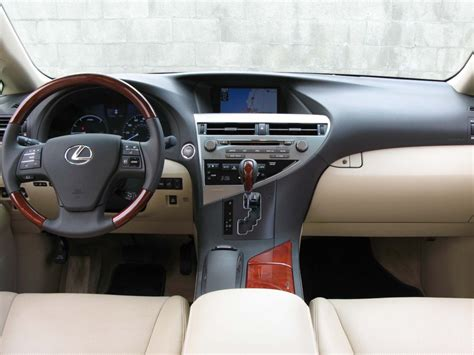 lexus rx interior 2012 lexus rx 450h rx 450h interior askautoexperts com