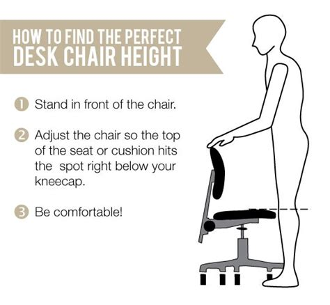 how high should a standing desk be quick tip finding the ideal height for your task chair