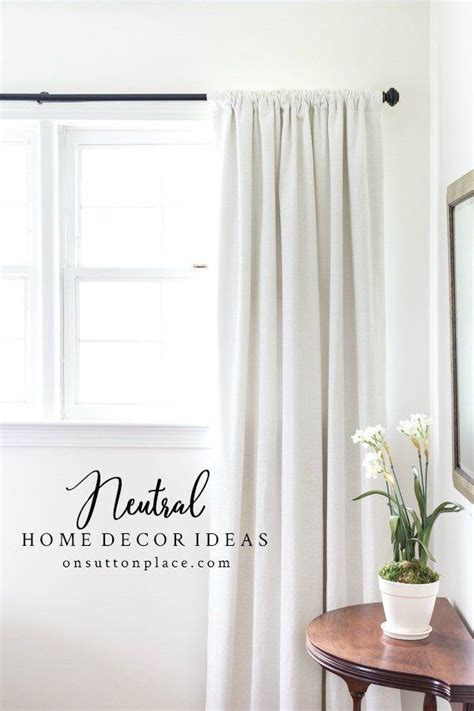 Adding Interest To Neutral Decor by Pin On Best Diy Ideas