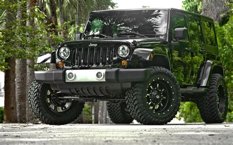Jeep Wrangler Black 2013 Hd Wallpapers Desktop Background