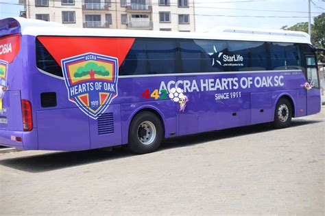 Hearts of Oak officially unveil new bus - 442 GH