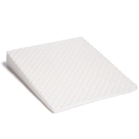 foam wedge pillow hermell softeze foam wedge walmart