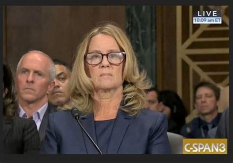 Ford Testifies, Says '100%' Certain Kavanaugh Assaulted Her
