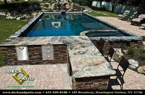 Ideas For Shelves In Kitchen - pools pools pools gunite pool shelves and backyard