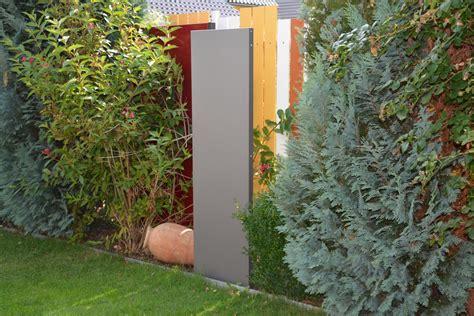 Sichtschutz Garten Stelen by Stele Sichtschutz Schmal 180 X 50 X 4 Cm Aus Metall