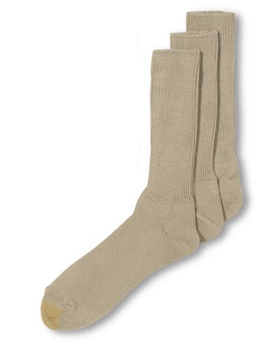 mens light brown socks gold toe adc acrylic fluffies 3 pack crew casual men 39 s