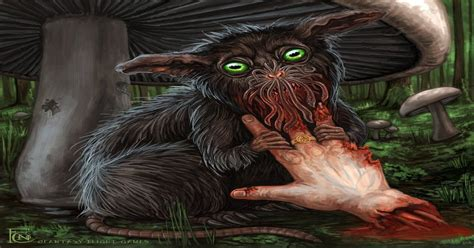 Furtive Zoog by Felicia Cano (x-post r/ArtofHands ...