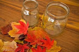 Herbstdeko Selbst Gemacht : herbstliche windlichter basteln dansenfeesten ~ Orissabook.com Haus und Dekorationen