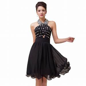 free shipping knee length cocktail dress chiffon cocktail With black cocktail dresses for weddings