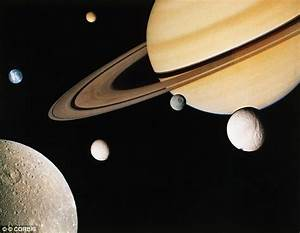 Tidal patterns suggest Saturn's moons may be younger than ...