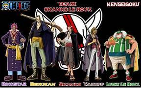 One Piece Team Shanks ...One Piece Shanks Crew Bounty