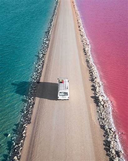 Australia Lake Macdonnell South Travel Places There