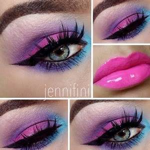 17 Best ideas about Neon Eyeshadow on Pinterest