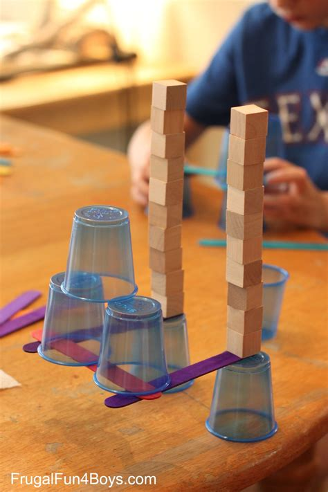 balancing games for preschoolers 4 engineering challenges for cups craft sticks and 133