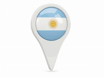 Argentina Icon Round Flag Illustration