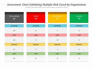 Assessment Chart Exhibiting Multiple Risk Faced By