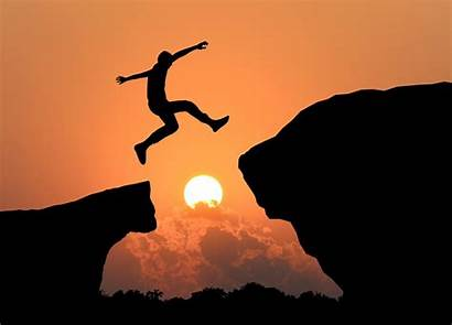 Cliff Jumping Silhouette Pause Reflection Strive Masiyiwa