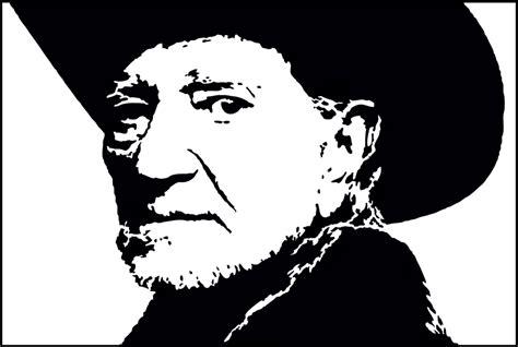 Willie Nelson Stencil Svg Mungfali