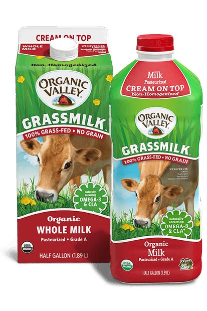 In most jurisdictions, use of the term organic or equivalents like bio or eco, on any product is regulated by food authorities. Whole Grassmilk, Non-Homogenized, Pasteurized, Half Gallon