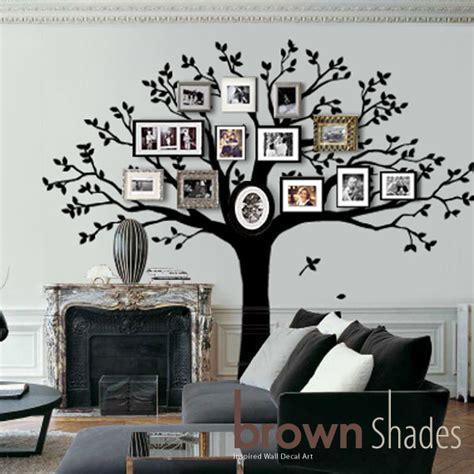 Hobby Lobby Wall Decor Stickers by Family Tree Wall Decal Tree Wall Decal By Brownshades On