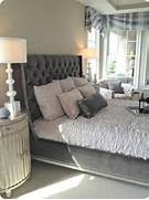 Gray Tufted Headboard For The Home Pinterest Furniture Beds Grey Gray Bed Tufted Furniture Gray Tufted Upholstered Bed Frame Master Bedrooms And Romantic Master Bedroom Size Grey Tufted Headboard Storage Bed And Tufted Sofa Bench Set