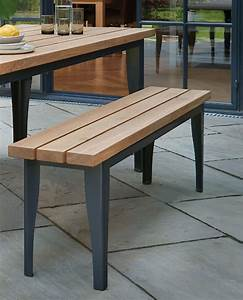Designed To Pair With The Outdoor Oak Brunel Table And