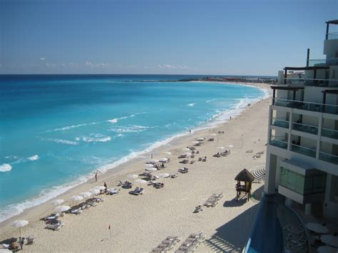 Cancun Mexico Citys Caribbean Sea Images