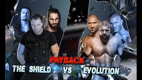 WWE Payback 2014 - The Shield vs Evolution Full Match HD ...