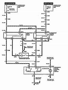 Acura Legend  1994 - 1995  - Wiring System