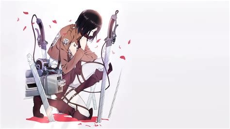 anime shingeki  kyojin mikasa ackerman wallpapers hd