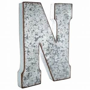 75 best images about wall decor letters on pinterest With galvanized letter b