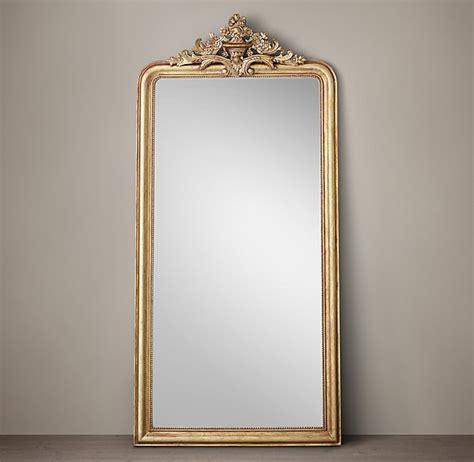 louis philippe gilt leaner mirror