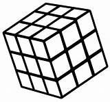 Rubiks Rubik Rubix Decorare Geeky Scooter sketch template