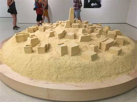 what is couscous made of replica of an algerian city made of couscous now on display at the guggenheim open culture