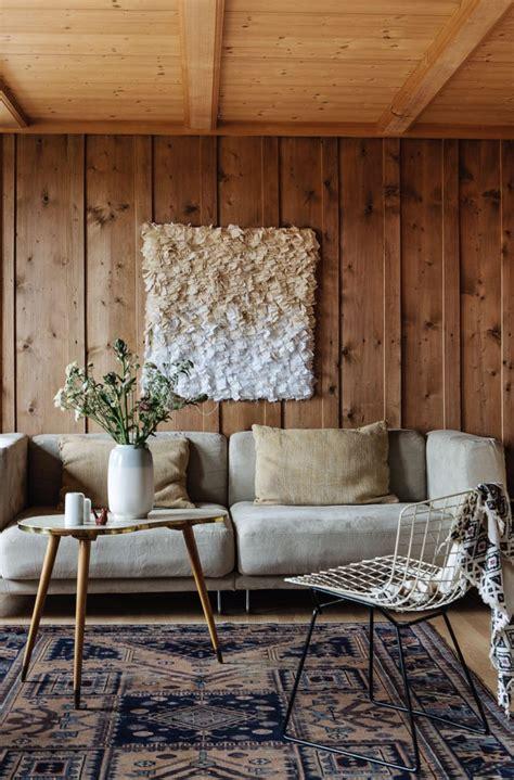chambre avec lambris idées déco habiller ses murs de bois