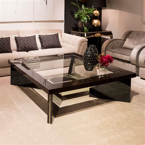 You'll receive email and feed alerts when new items arrive. Contemporary Square Ebony Coffee Table