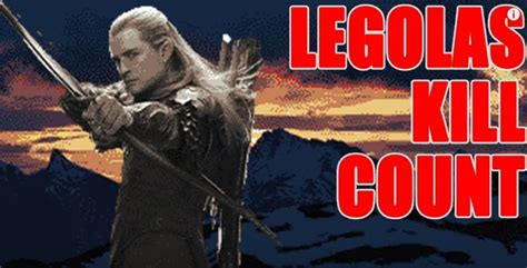 Legolas' Kill Count For The Hobbit And The Lord Of The