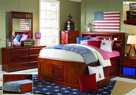 Captains Bed With Bookcase Headboard by Size Captains Bed With Bookcase Headboard And Six