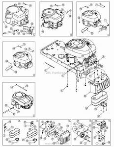 Mtd 13rn771h729  2007  Parts Diagram For Engine Accessories