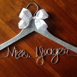 glitter hangers sparkle hanger mrs wedding dress hanger With mrs hanger for wedding dress