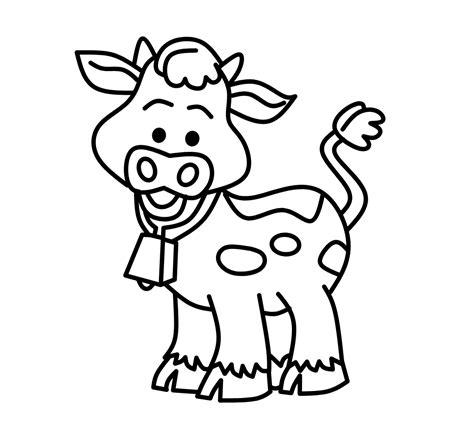 gambar mewarnai binatang ternak lucuuuu