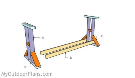 glider swing plans myoutdoorplans  woodworking