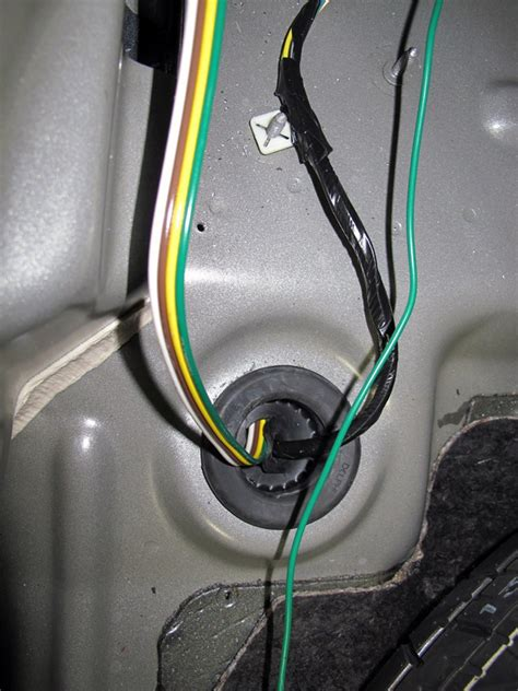 2007 Ford Edge Trailer Wiring by Curt T Connector Vehicle Wiring Harness With 4 Pole Flat
