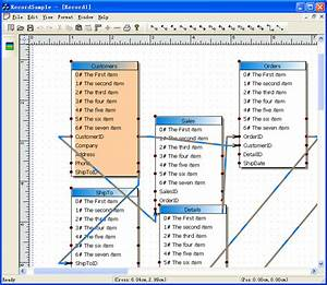Database Diagramming Tool  Database Diagram Control  Uml