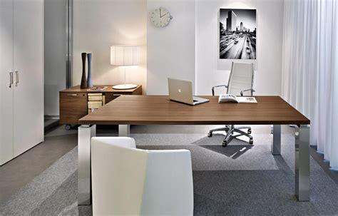 mobilier bureau haut de gamme bureau de direction luxe pieds carrés tao