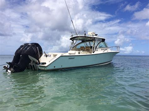Pursuit Boats Drummond Island by 2007 Pursuit 345 Drummond Sportfish Power Boat For Sale