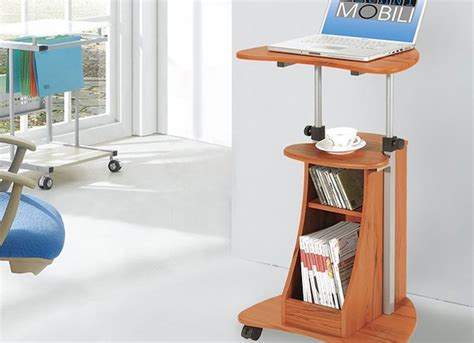 roll away computer desk standing laptop desk 10 ways your furniture can make you