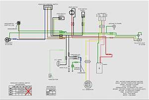 Electric Scooter Throttle Wiring Diagram